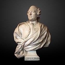 Bust of François-Cesar Le Tellier de Courtanvaux at BSG-IMG 6993-gradient.JPG