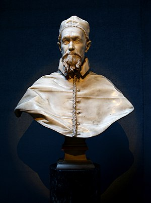 Busts of Pope Innocent X - Second version