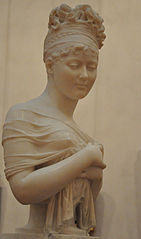 Bust of Juliette Récamier
