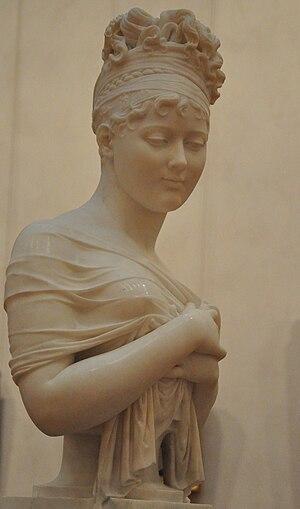 Juliette Récamier - Bust by Joseph Chinard