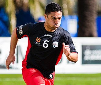 Cássio Oliveira - Cássio warming up with Adelaide United