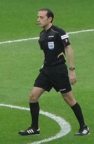 2015 UEFA Champions League Final - Cüneyt Çakır was the final's referee.