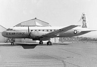Convair C-131 Samaritan - A C-131B used by the New Mexico Air National Guard.