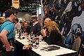 C2E2 2013 - Josh Fialkov, Chris Samnee and Mark Waid signing (8684976866).jpg