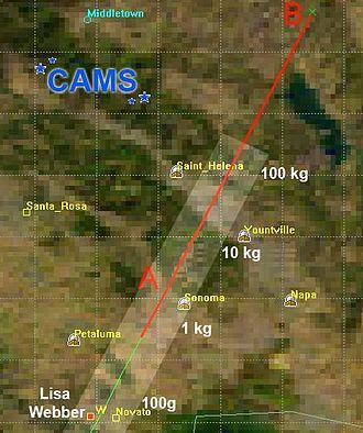 Novato meteorite - Image: CAM Strack 1