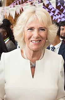 Camilla, Duchess of Cornwall Member of the royal family, wife of Charles, Prince of Wales