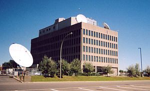 Canadian Meteorological Centre - CMC building viewed from the West