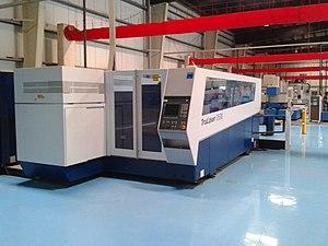 Laser cutting - 4000 watt CO2 laser cutter