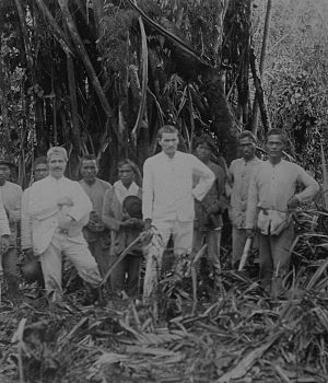 Paul Sarasin - Fritz Sarasin and Paul Sarasin during their expedition to Celebes.