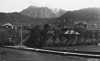 Mount Sibayak - Mount Sibayak in 1920s