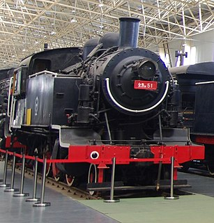 Sentetsu Purena-class locomotives 2-6-2 steam locomotive