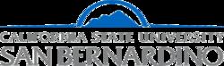 California State University, San Bernardino Logo