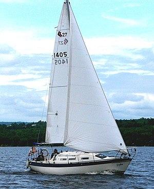 CS 27 - Image: CS 27 sailboat Gryphon