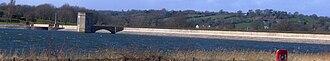 Chew Valley Lake - Chew Valley Lake dam