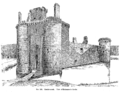 Caerlaverock Castle - View of Entrance to Castle.png
