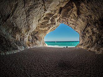 Sardinia - Cave in Cala Luna, Dorgali and Baunei