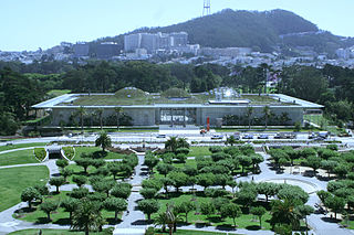 California Academy of Sciences natural history museum in San Francisco