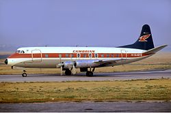 Cambrian Airways Vickers Viscount