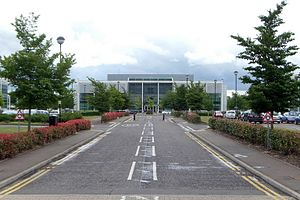 CSR (company) - Churchill House, part of CSR's corporate campus at the Cambridge Business Park
