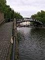 Camden Lock Footbridge, Camden Lock, London NW1 - geograph.org.uk - 398321.jpg