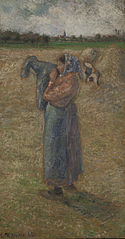 Peasant Woman in a Field