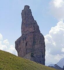 Il Campanile di Val Montanaia.