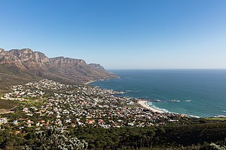 Camps Bay Place in Western Cape, South Africa