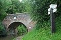 Canal bridge and signpost - geograph.org.uk - 1346767.jpg