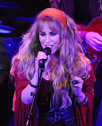 Candice Night - Night in 2012, performing a concert