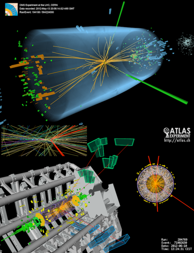 elementary particle related to the higgs field giving particles mass