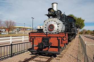 Lima Locomotive Works - Image: Canon City West Side Lumber Co 8 Front 2012 10 28