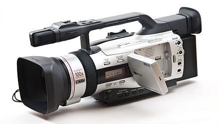 list of canon camcorders wikiwand rh wikiwand com Used Canon GL1 Canon Digital Camcorder
