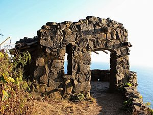 National Register of Historic Places listings in Lincoln County, Oregon - Image: Cape Perpetua Stone Shelter