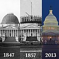 Capitol evolution over time (9806645046).jpg