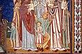 Cappella di san silvestro, affreschi del 1246, storie di costantino 01 malato conforta le vergini 4.jpg