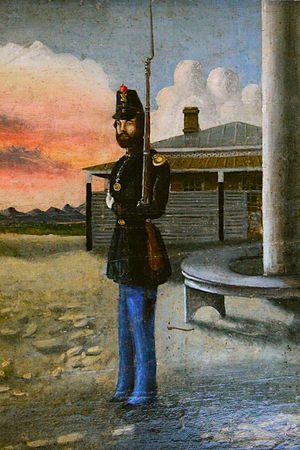 Joseph Stewart (Alaska) - Capt. Joseph Stewart, Fort Yuma, CA in 1858.