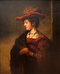 Saskia van Uylenburgh, Wife of the Painter Rembrandt