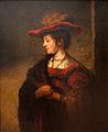 Carel Fabritius - Saskia van Uylenburgh, vrouw van de schilder Rembrandt..JPG