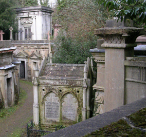 Carl Rosa Opera Company - Tomb of Carl Rosa, Highgate Cemetery, London.