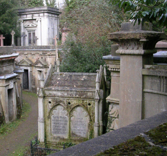 Carl Rosa - Tomb of Rosa, his second wife Josephine and daughter Violet, Highgate Cemetery, London
