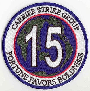 Carrier Strike Group 15 military unit