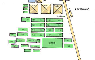 Giza East Field - Map of the East Field in Giza