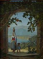 Erinnerung an Sorrent, 1828 (Quelle: Wikimedia)