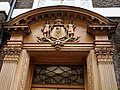 Carving over the door at One Queen Anne's Gate - geograph.org.uk - 1599431.jpg
