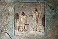 Casa di cascus longus, affreschi 04 attori.jpg