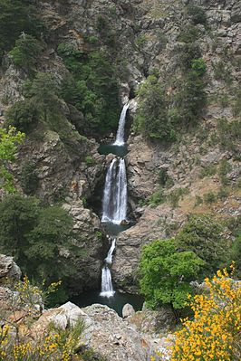 Maesano-waterval, nationaal park Aspromonte
