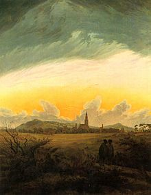 Landschaftsmalerei romantik friedrich  Caspar David Friedrich – Wikipedia