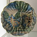 Casteldurante, bottega di andrea da negroponte, apollo e dafne, 1550-65 ca. 2.JPG
