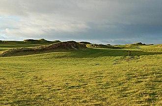 Kinkell, Fife - Castle Course, Kinkell Braes, January 2007