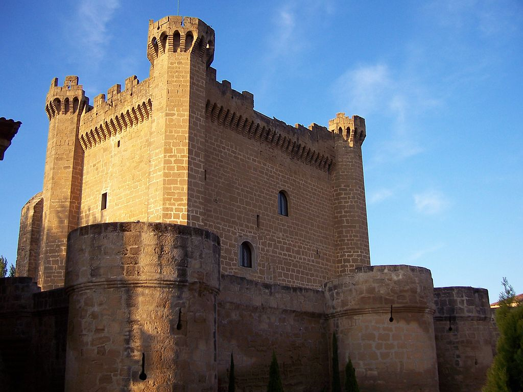 La Rioja Spain  city photo : Castle of Sajazarra, La Rioja Spain Wikimedia Commons
